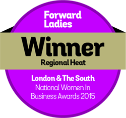 Forward-Ladies-Awards-Badges 2015 Winner - London & South