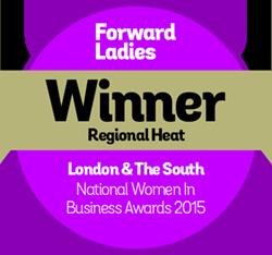 Forward-Ladies-Awards-Badges 2015 Winner - London & South