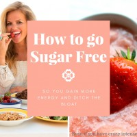 How to go Sugar Freewith ease.