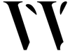 W Logo Black