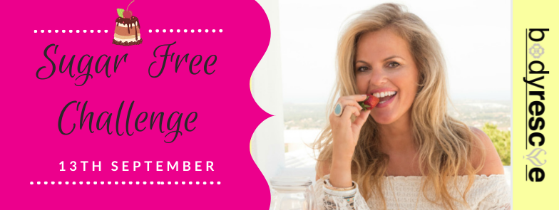 Sugar Free 5 day challenge banner